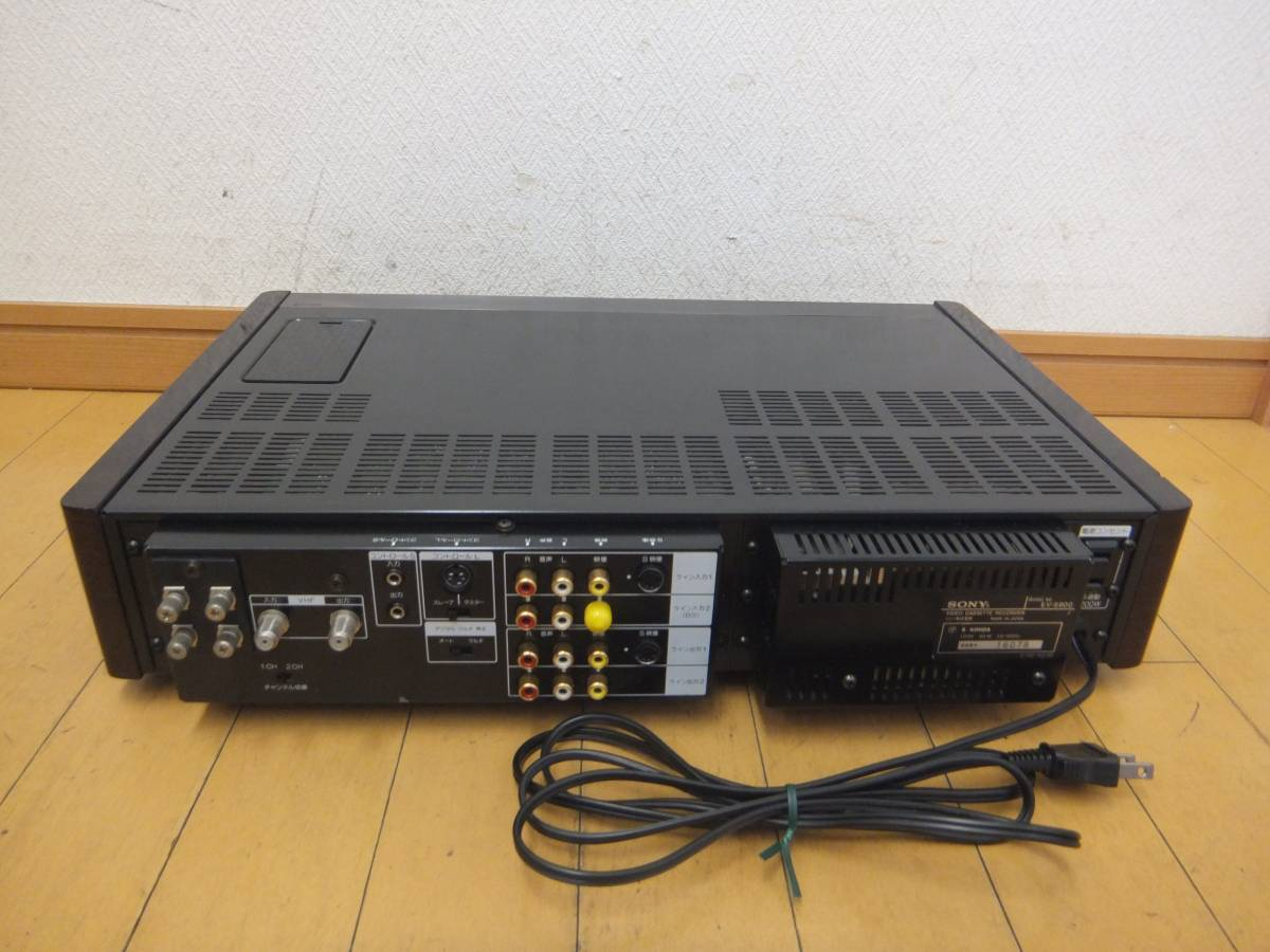 ★SONY/ソニー Hi8/ハイエイト ビデオカセットレコーダー[EV-S900]ビデオデッキ/ジャンク_画像9