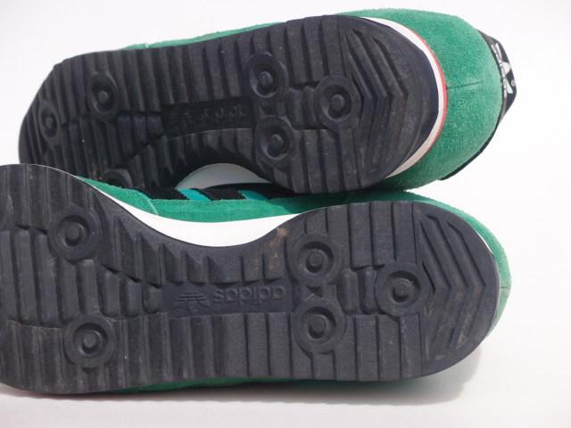 美品 限定復刻 11年 adidas SL72 緑x黒 26cm US 8_画像6