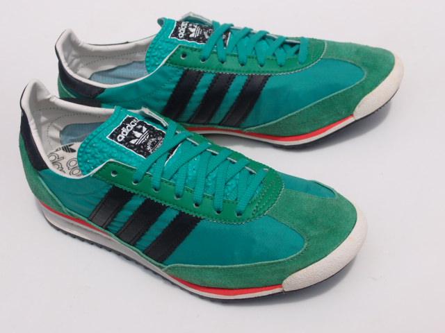 美品 限定復刻 11年 adidas SL72 緑x黒 26cm US 8_画像1