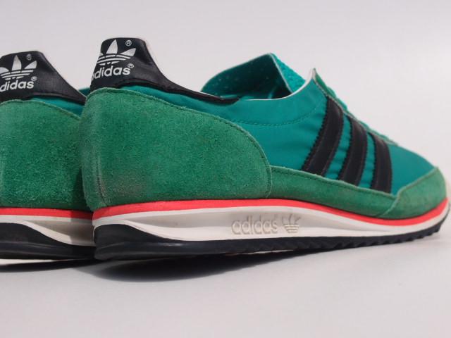 美品 限定復刻 11年 adidas SL72 緑x黒 26cm US 8_画像5
