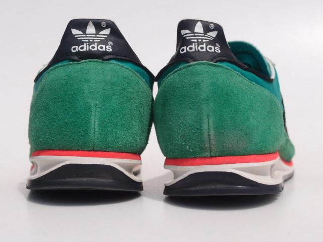 美品 限定復刻 11年 adidas SL72 緑x黒 26cm US 8_画像4