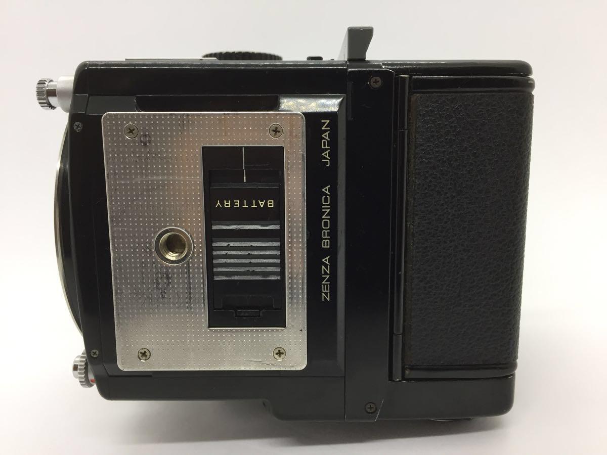 【ジャンク】ゼンザ ブロニカ 645 ETR ボディ、フィルムバック_画像4
