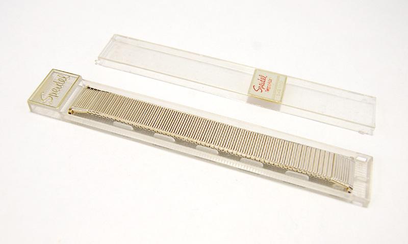 【Speidel】 USA 腕時計バンド 18-22mm デッドストック エクステンションベルト ブレス ビンテージウォッチに MB141_画像8