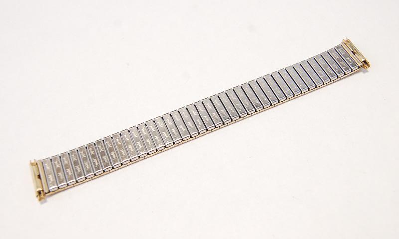 【Speidel】 USA 腕時計バンド 16-19mm デッドストック エクステンションベルト ブレス ビンテージウォッチに MB140_画像8