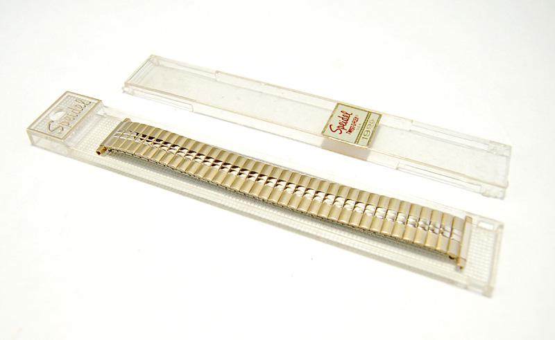【Speidel】 USA 腕時計バンド 17-22mm デッドストック 伸縮ベルト ブレス アンティーク・ヴィンテージウォッチに MB148_画像4