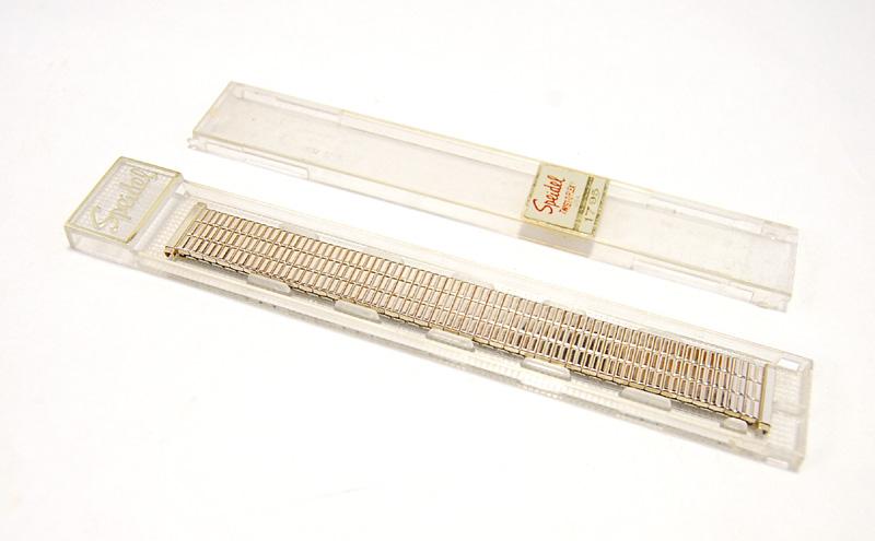 【Speidel】 USA 腕時計バンド 16-19mm デッドストック エクステンションベルト ブレス ビンテージウォッチに MB140_画像7
