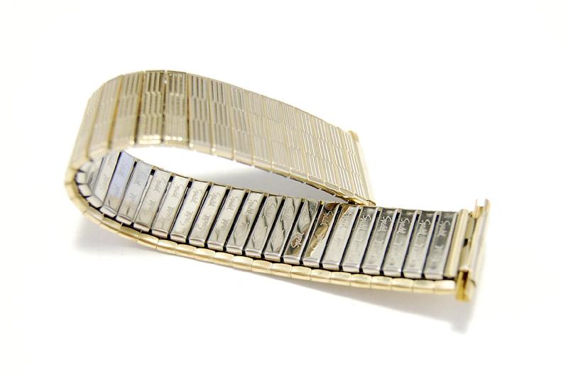 【Speidel】 USA 腕時計バンド 17-22mm デッドストック 伸縮ベルト ブレス アンティーク・ヴィンテージウォッチに MB145_画像6
