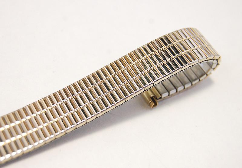 【Speidel】 USA 腕時計バンド 16-19mm デッドストック エクステンションベルト ブレス ビンテージウォッチに MB140_画像6