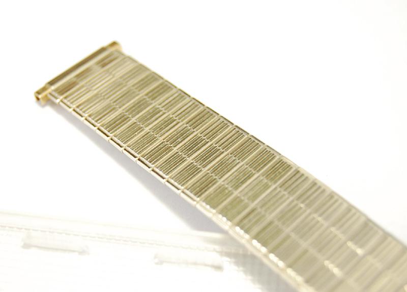 【Speidel】 USA 腕時計バンド 17-22mm デッドストック 伸縮ベルト ブレス アンティーク・ヴィンテージウォッチに MB145_画像4