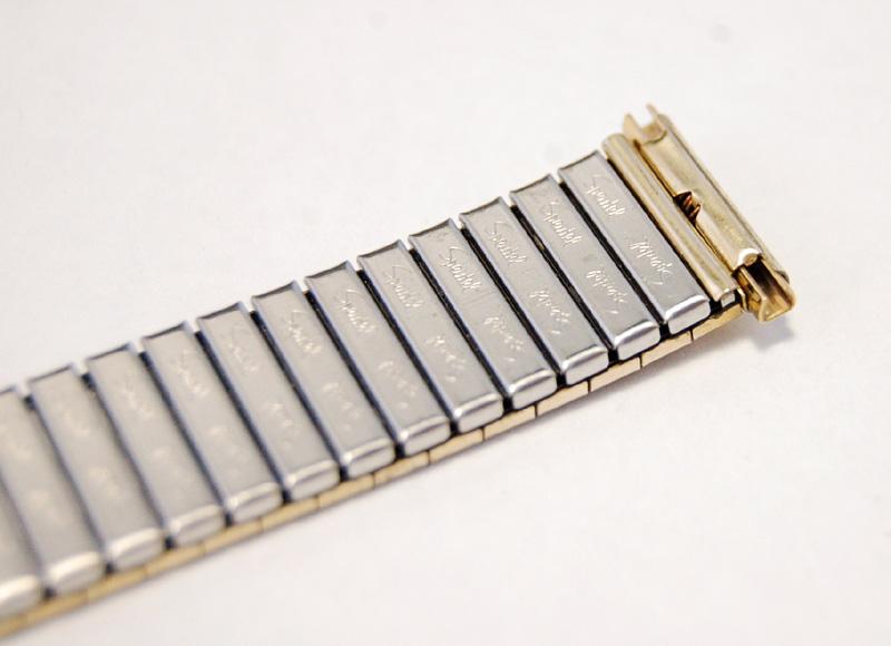 【Speidel】 USA 腕時計バンド 16-19mm デッドストック エクステンションベルト ブレス ビンテージウォッチに MB140_画像9