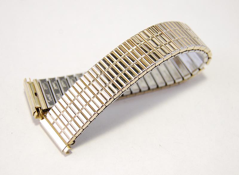 【Speidel】 USA 腕時計バンド 16-19mm デッドストック エクステンションベルト ブレス ビンテージウォッチに MB140_画像2