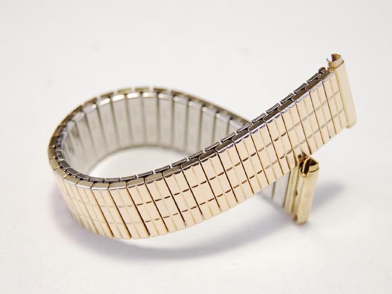 【Speidel】 USA 腕時計バンド 16-19mm デッドストック エクステンションベルト ブレス ビンテージウォッチに MB140_画像1