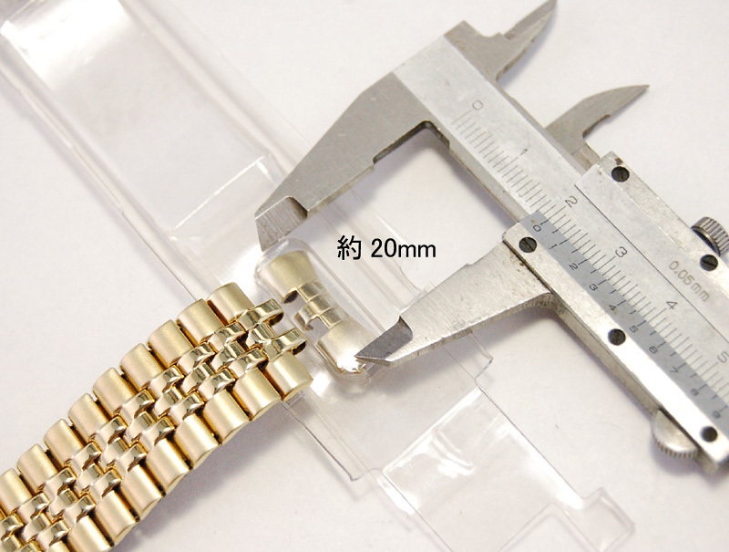 【Speidel】腕時計バンド 20mm デッドストック 伸縮ベルト ブレス アンティーク/ビンテージウォッチに MB156_画像10