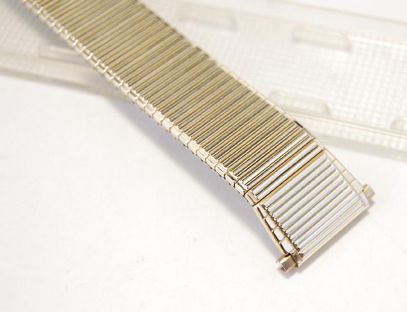 【Speidel】 USA 腕時計バンド 18-22mm デッドストック エクステンションベルト ブレス ビンテージウォッチに MB141_画像6