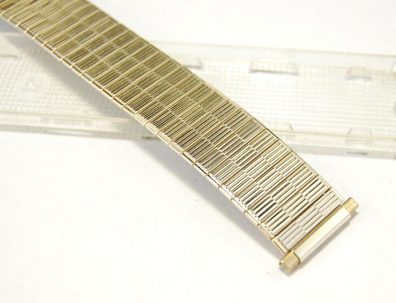 【Speidel】 USA 腕時計バンド 17-22mm デッドストック 伸縮ベルト ブレス アンティーク・ヴィンテージウォッチに MB145_画像2