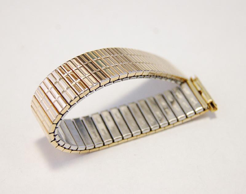 【Speidel】 USA 腕時計バンド 16-19mm デッドストック エクステンションベルト ブレス ビンテージウォッチに MB140_画像3