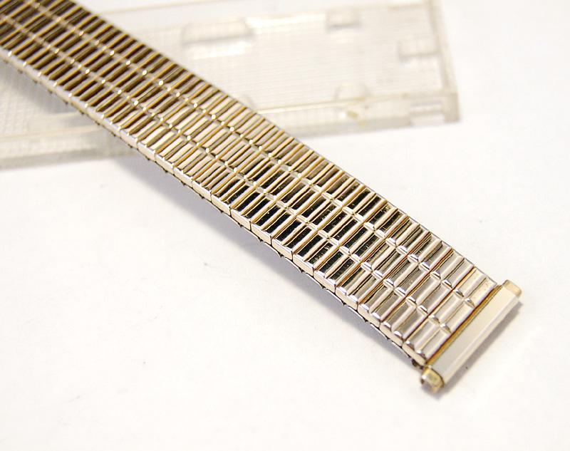 【Speidel】 USA 腕時計バンド 16-19mm デッドストック エクステンションベルト ブレス ビンテージウォッチに MB140_画像5