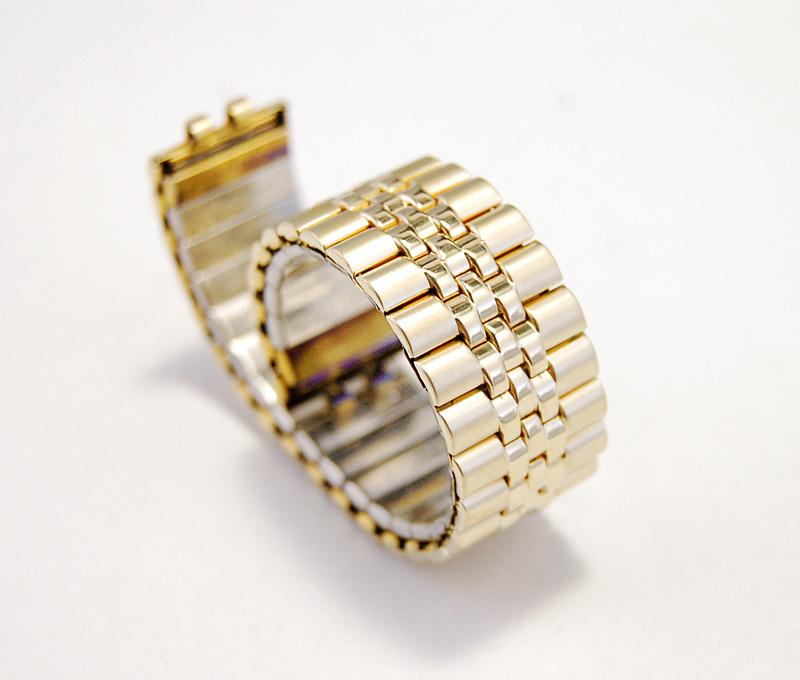 【Speidel】腕時計バンド 20mm デッドストック 伸縮ベルト ブレス アンティーク/ビンテージウォッチに MB156_画像1