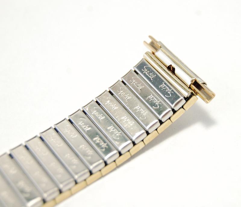 【Speidel】 USA 腕時計バンド 17-22mm デッドストック 伸縮ベルト ブレス アンティーク・ヴィンテージウォッチに MB148_画像6