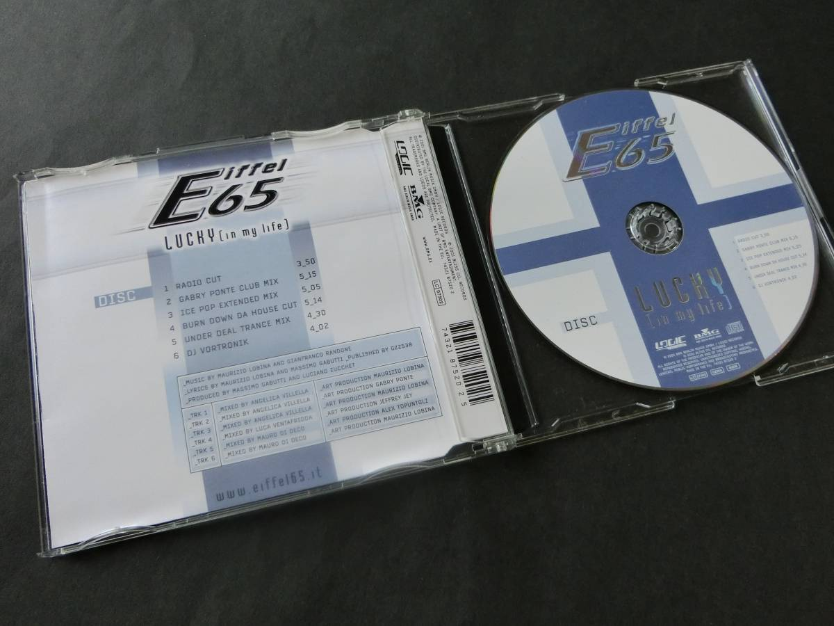 Eiffel 65■LUCKY [in my life] (ICE POP EXTENDED MIX/他)_画像2