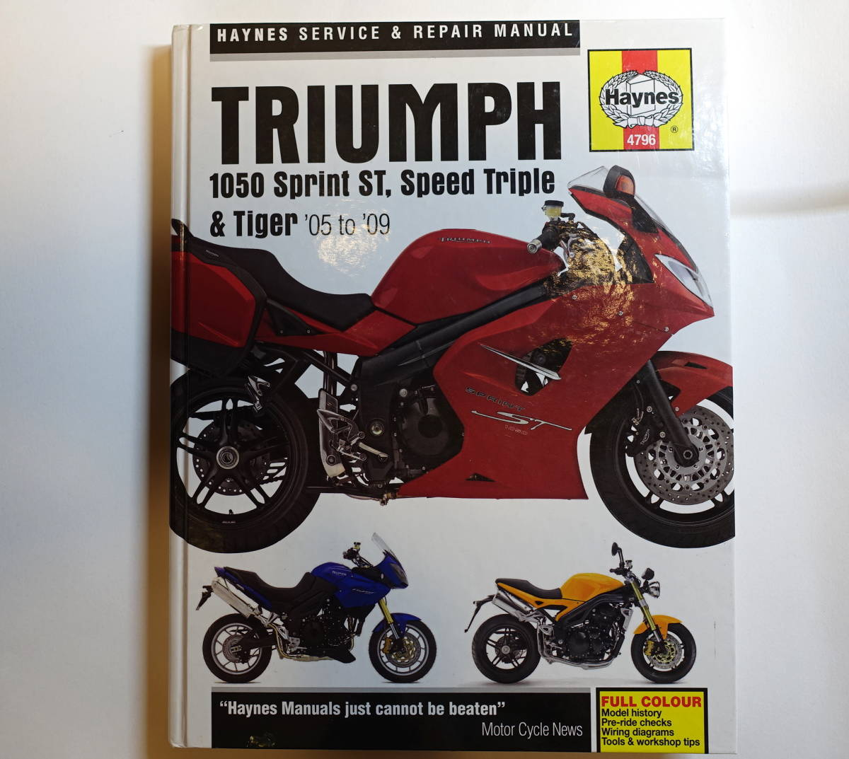 [ foreign book * English version ]Haynes partition nz service repair manual  TRIUMPH Speed Triple