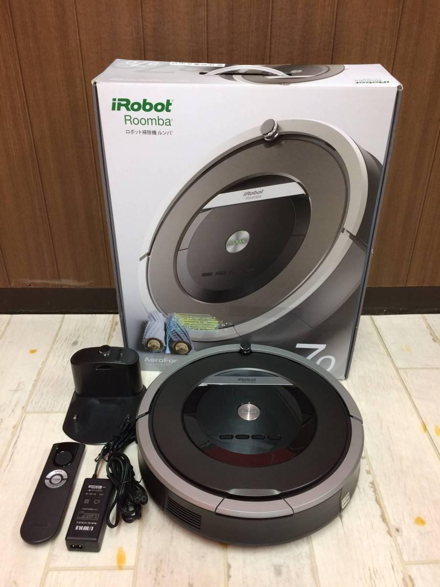 iRobot ロボット掃除機 ルンバ870 2014年製 中古 現状品