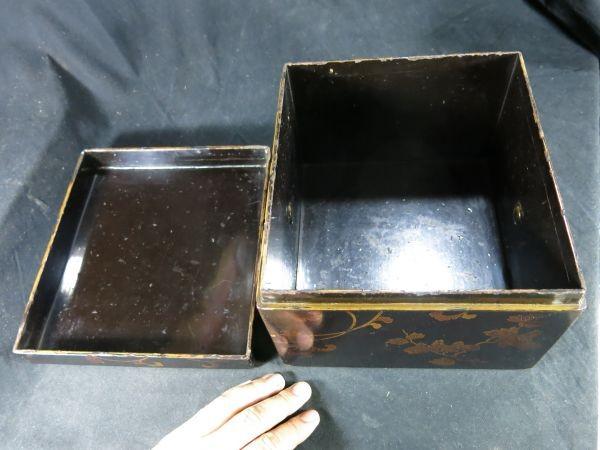 A 桐鳳凰蒔絵手箱 江戸時代前期 17世紀 漆工 塗りもの 文化財 蒔絵 漆器 木工 _画像2