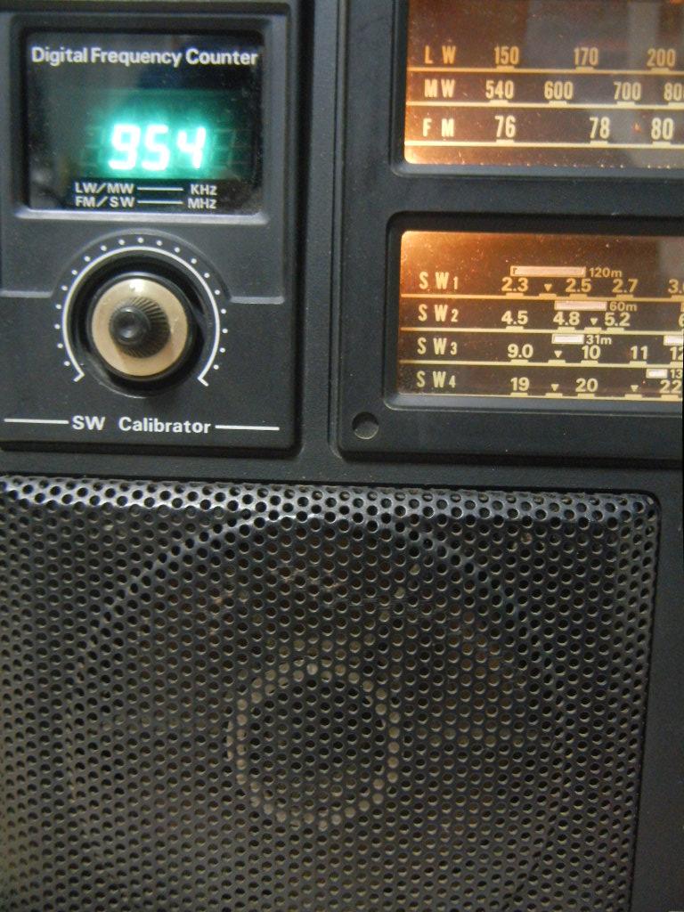 デジタル周波数表示部
