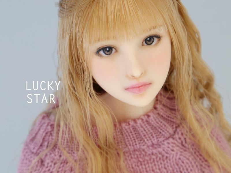【LUCKY STAR】 1/6カスタムドールヘッド「 亜里沙 ありさ 」