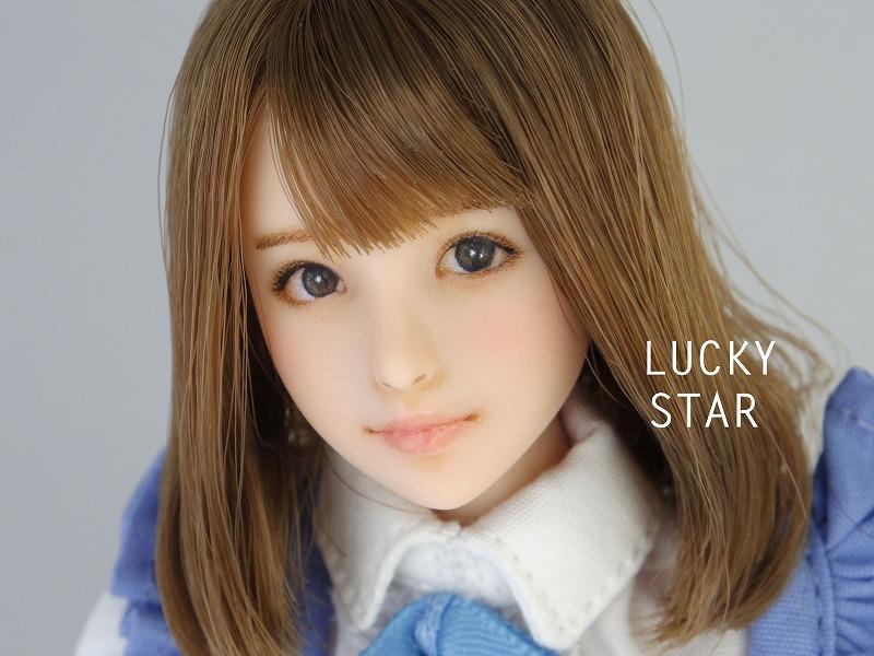【LUCKY STAR】 1/6カスタムドールヘッド「 未来 みらい 」