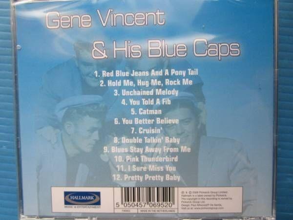 GENE VINCENT & His Blue caps 新品!! ジーンヴィンセント_画像2