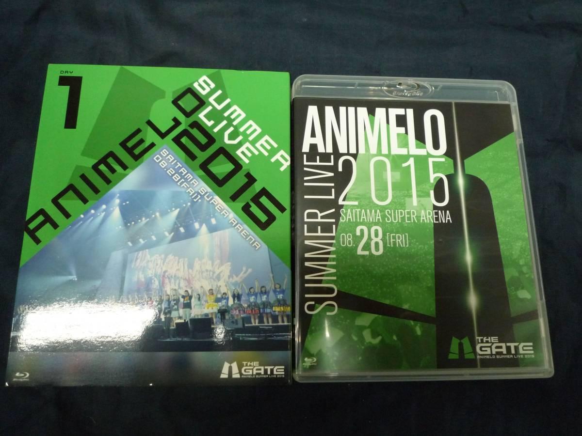 dk771 Blu-ray Animelo Summer Live 2015 -THE GATE- 8.28 中古品