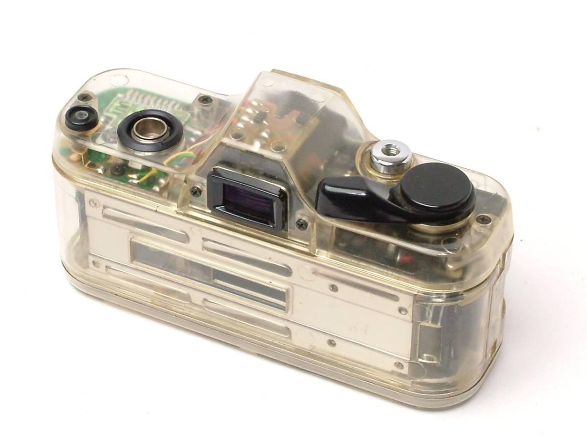 PENTAX AUTO 110 スケルトン 24mm F2.8 DUMMYレンズ付 (ジャンク扱い) 希少店頭デモ機 非売品_画像3