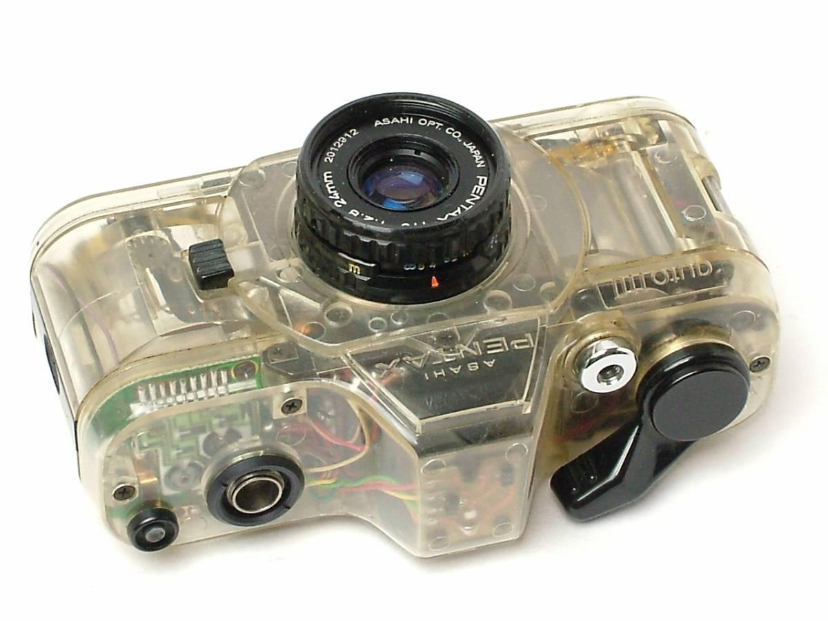 PENTAX AUTO 110 スケルトン 24mm F2.8 DUMMYレンズ付 (ジャンク扱い) 希少店頭デモ機 非売品_画像10