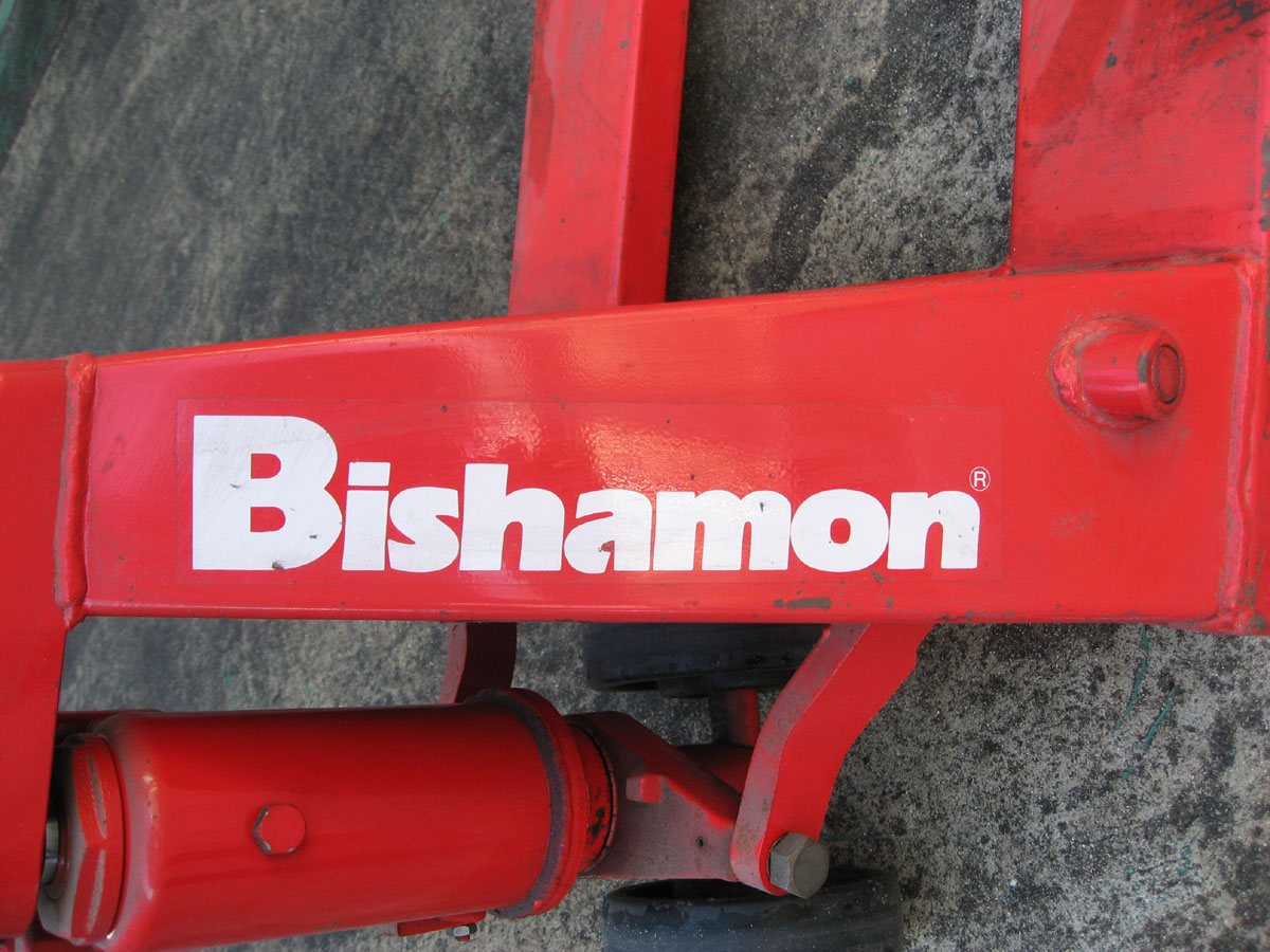 Bishamon pallet truck titan electric tile cutter