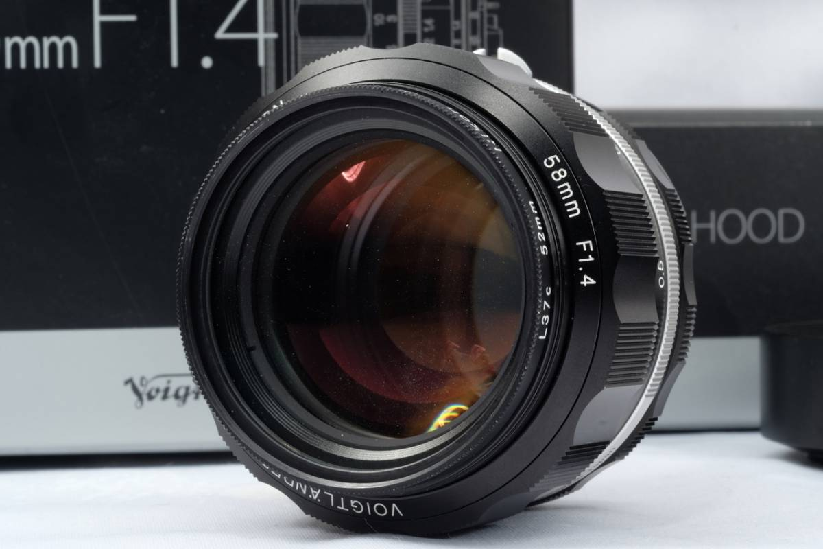 VOIGTLANDER フォクトレンダー Cosina NOKTON 58mm 1.4 SL Ⅱ Nikon F マウント Ai-S 交換レンズ 中古 品_画像5