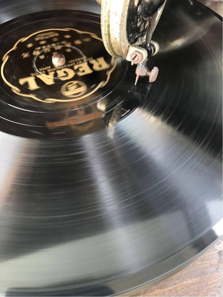 希少 columbia コロンビア グラフォノーラ Viva-tonal Grafonola 卓上型 蓄音機/昭和レトロ_画像3