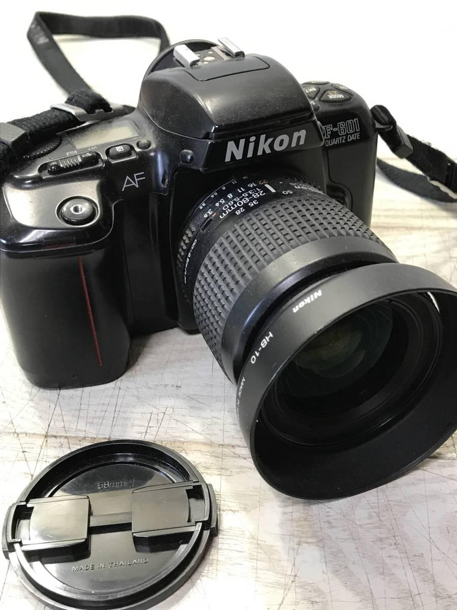 A172・Nikon、一眼レフカメラ、まとめ売り、F-601、中古、ジャンク品_画像2