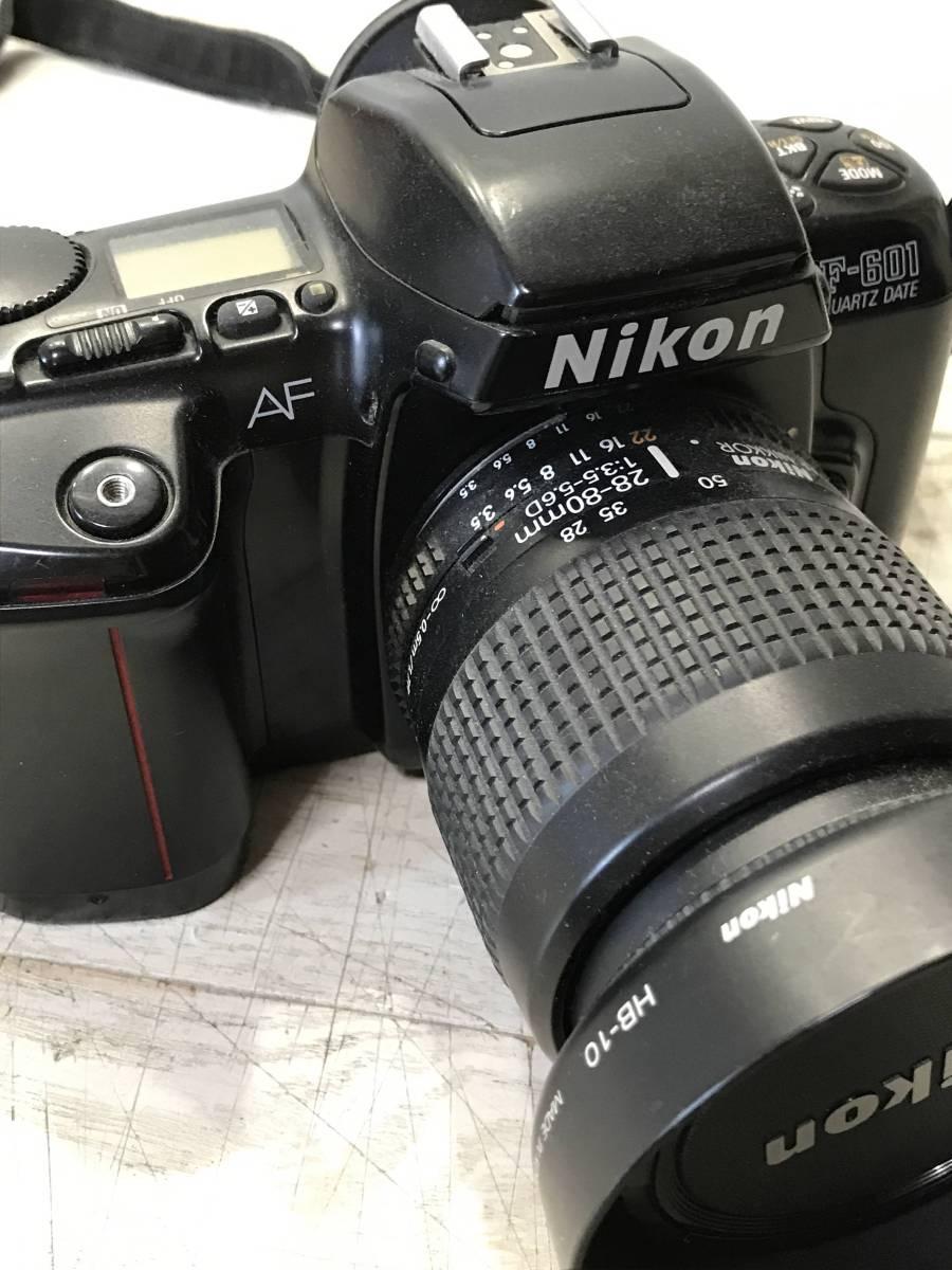 A172・Nikon、一眼レフカメラ、まとめ売り、F-601、中古、ジャンク品_画像4