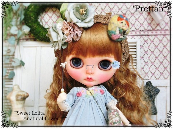 *Prettam*カスタムブライス*+◯○。**Sweet Lolita × natural flower*+.。○◯~