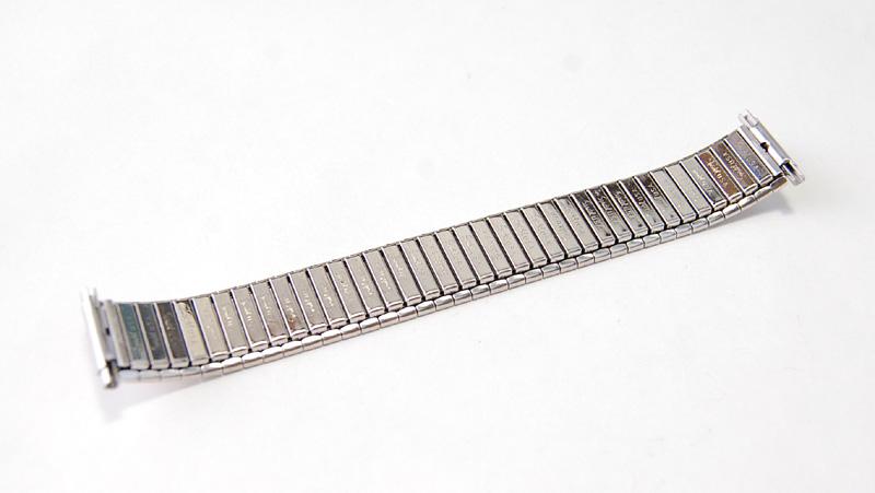 【Speidel】 USA 腕時計バンド 17-22mm デッドストック エクステンションベルト ブレス ビンテージウォッチに MB134_画像8