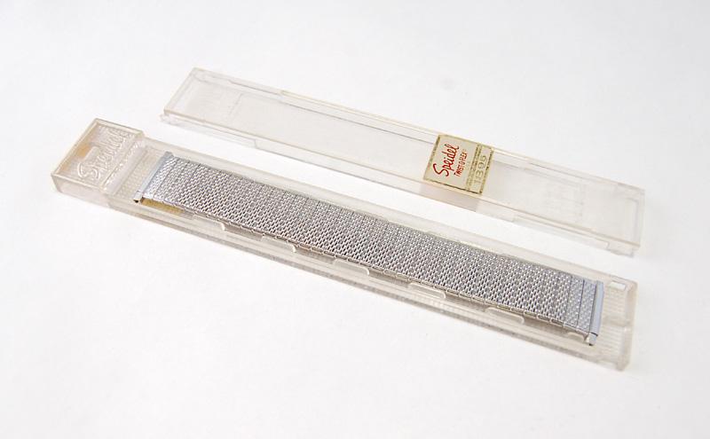 【Speidel】 USA 腕時計バンド 17-22mm デッドストック エクステンションベルト ブレス ビンテージウォッチに MB134_画像7