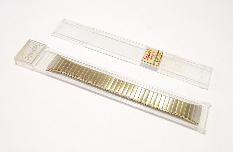 【Speidel】 腕時計バンド 18-22mm デッドストック エクスパンションベルト アンティークウォッチ/ビンテージウォッチに MB118_画像9