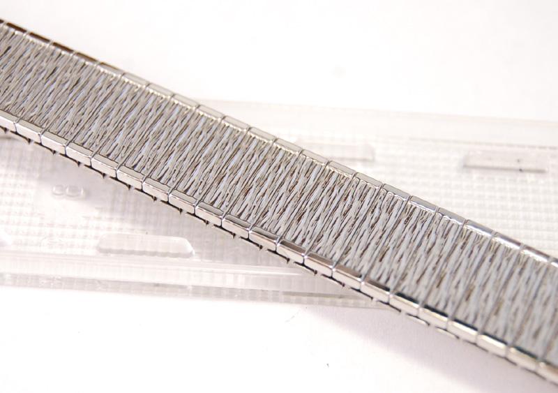 【Speidel】 USA 腕時計バンド 16-19mm デッドストック エクステンションベルト ブレス ビンテージウォッチに MB133_画像4