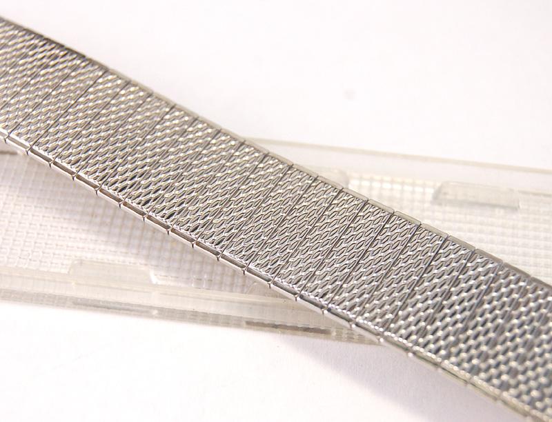【Speidel】 USA 腕時計バンド 17-22mm デッドストック エクステンションベルト ブレス ビンテージウォッチに MB134_画像5