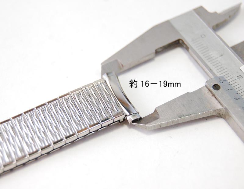 【Speidel】 USA 腕時計バンド 16-19mm デッドストック エクステンションベルト ブレス ビンテージウォッチに MB133_画像10