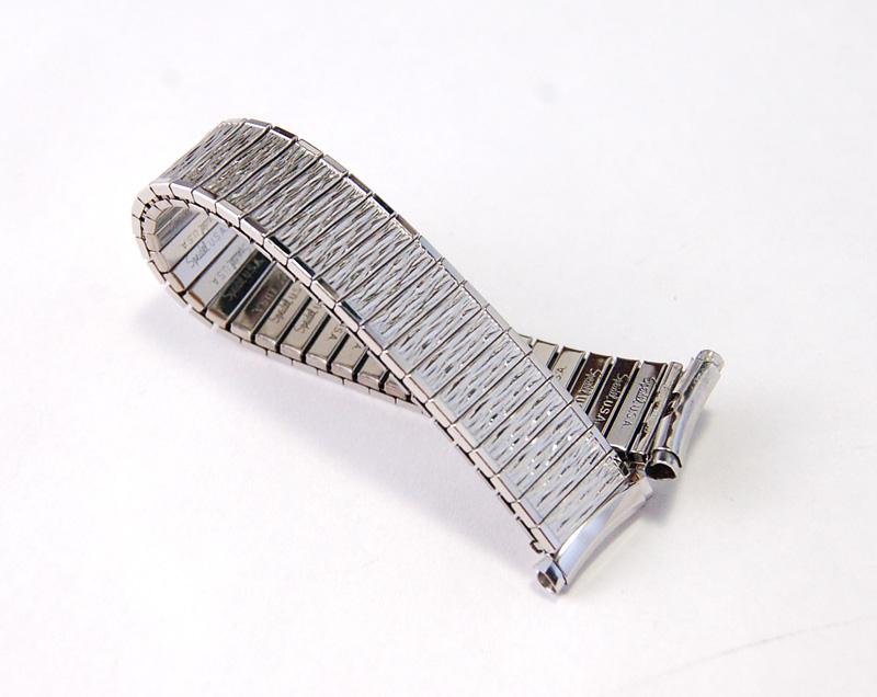 【Speidel】 USA 腕時計バンド 16-19mm デッドストック エクステンションベルト ブレス ビンテージウォッチに MB133_画像6