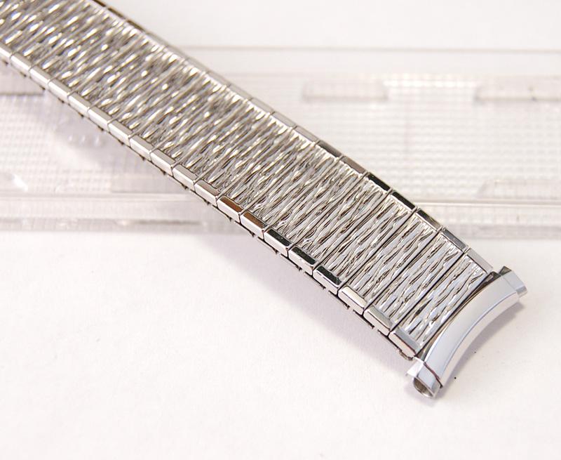 【Speidel】 USA 腕時計バンド 16-19mm デッドストック エクステンションベルト ブレス ビンテージウォッチに MB133_画像2