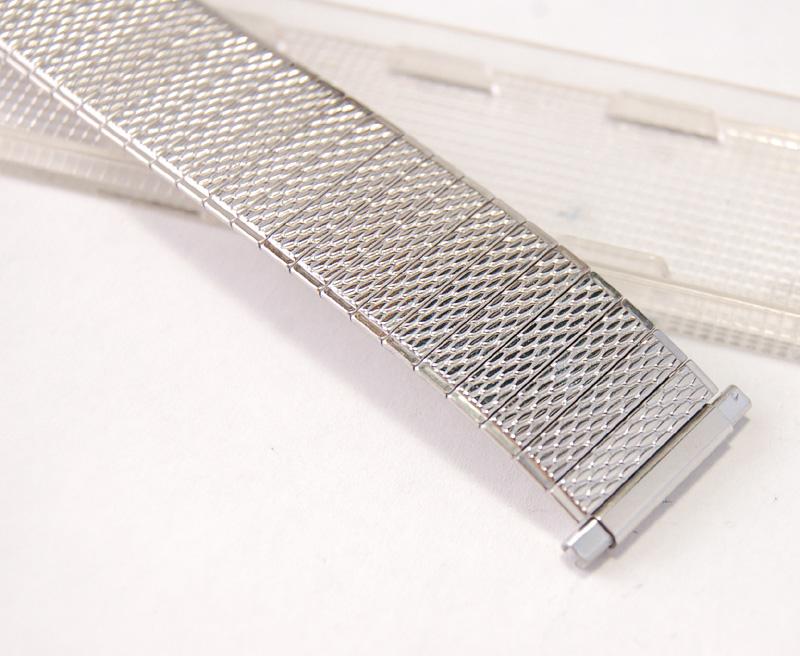 【Speidel】 USA 腕時計バンド 17-22mm デッドストック エクステンションベルト ブレス ビンテージウォッチに MB134_画像6