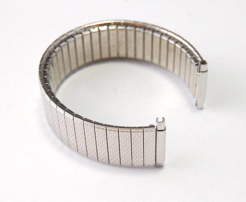 【Speidel】 USA 腕時計バンド 17-22mm デッドストック エクステンションベルト ブレス ビンテージウォッチに MB134_画像1